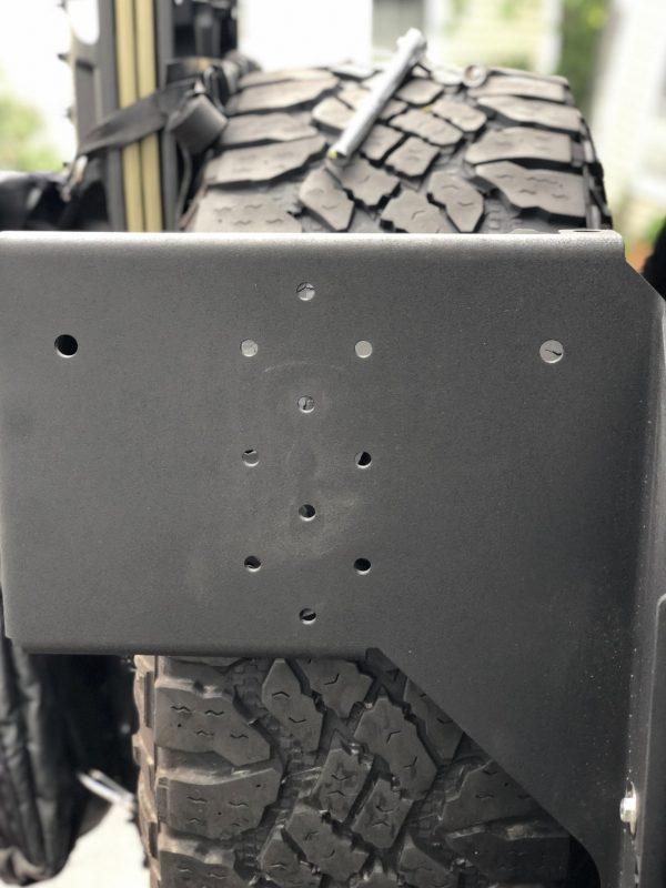 Jeep Wrangler JK MAXTRAX Mount by GP Factor  Mounting Gear GP Factor- Adventure Imports