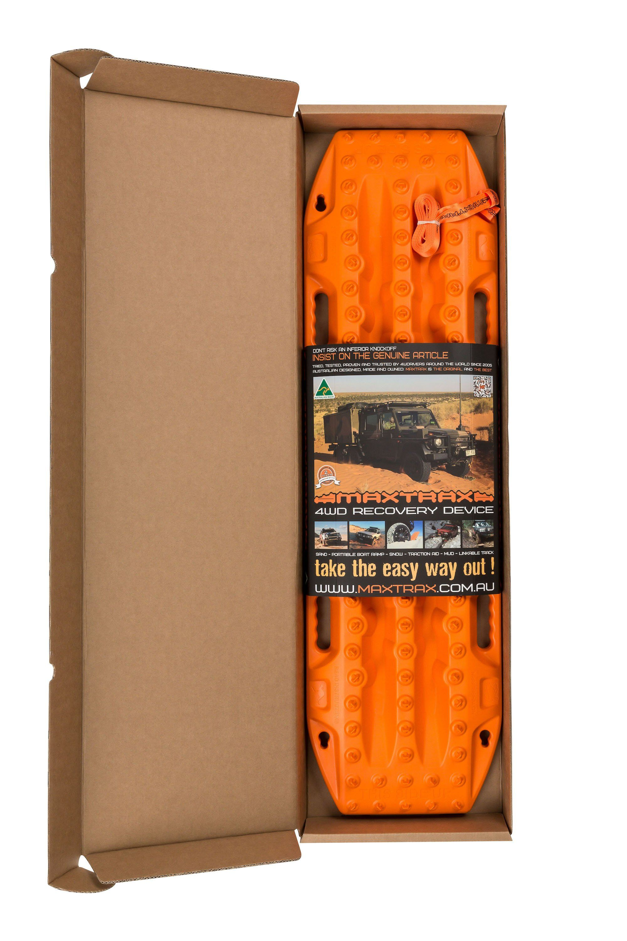 MAXTRAX MKII Signature Orange Recovery Boards  Recovery Gear MAXTRAX- Adventure Imports