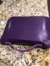 Load image into Gallery viewer, Purple Leather Bible Carrying Case