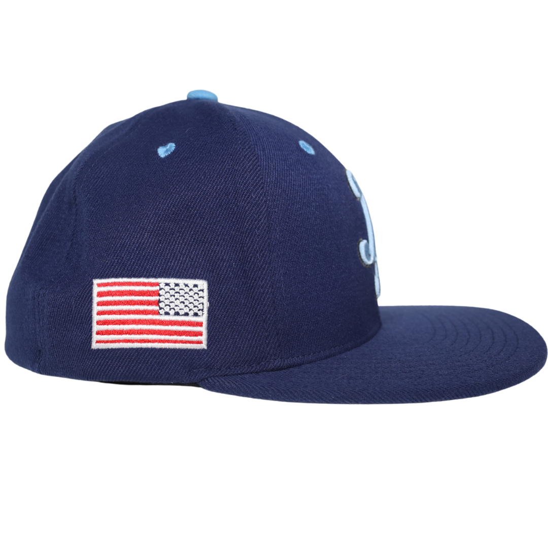Navy Gamer Fitted Cap