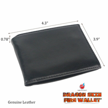 Load image into Gallery viewer, Dragon Skin Fire Wallet! Real Fire!