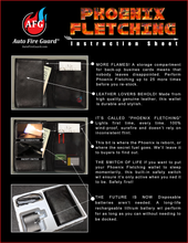 Load image into Gallery viewer, NEW! Phoenix Fletching Fire Wallet