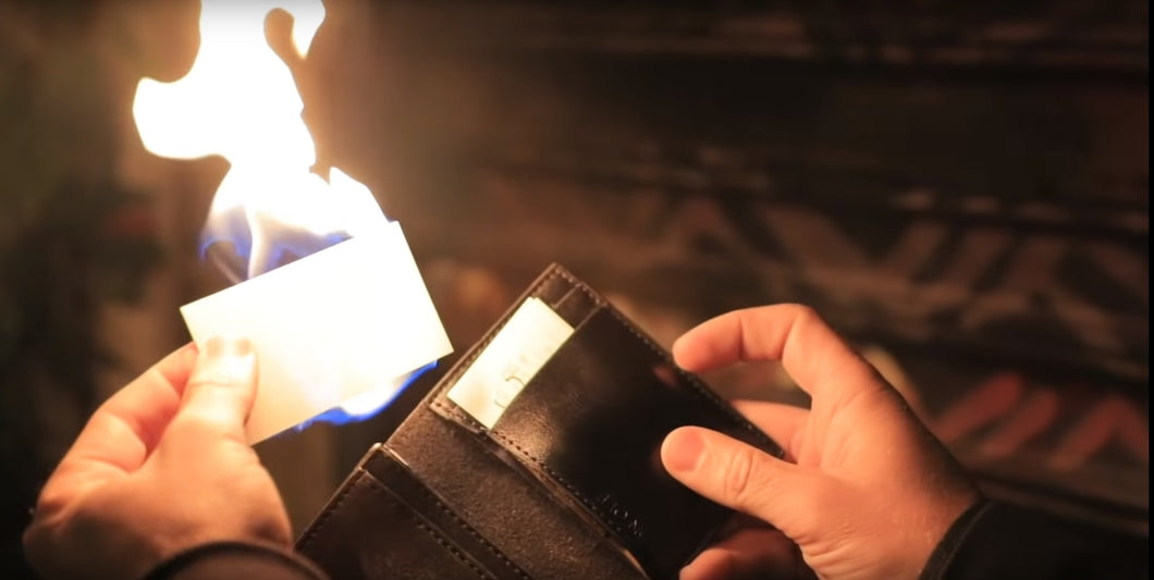 NEW! Phoenix Fletching Fire Wallet
