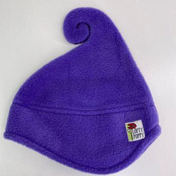 Lofty Poppy Fleece Hat - 6-18m (Small) Lilac