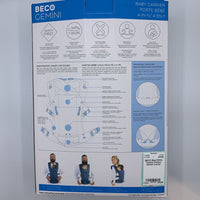 BECO Blue/White Turbine Pattern Gemini Carrier