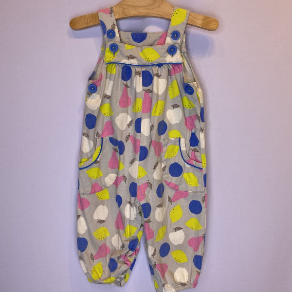 Size 12-18m: Baby Boden Sleevless Grey Fruit Romper Long