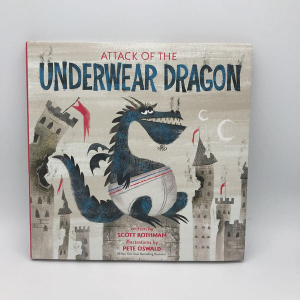 Attack of the Underwear Dragon (hardcover)