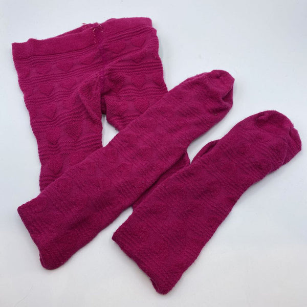 Size 4/5: Children's Place Pink Heart Tights