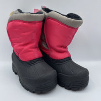 Size 9: Northside Pink/Grey Snow Boots