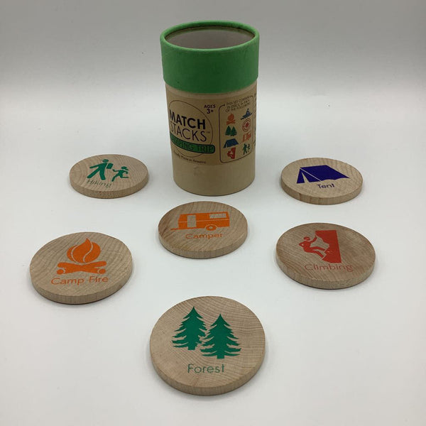 Match Stacks Brain Building Play - Camping Trip