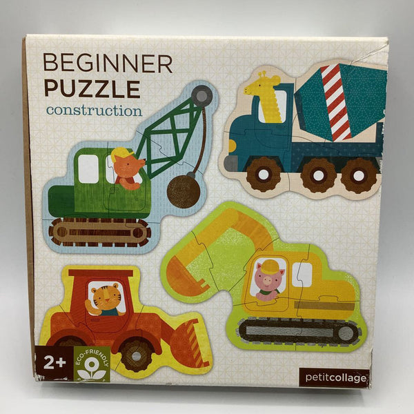 Petit Collage Construction Beginner Puzzles