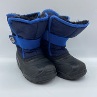 Size 10: Kamik Black/Blue Snow Boots REDUCED
