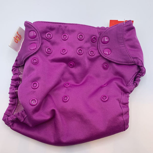 Flip Purple Snap Adjustable Diaper Cover OS