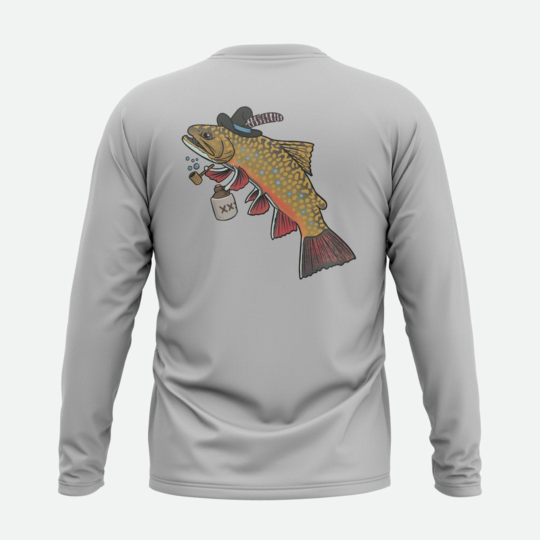 DWFS/Remedy Provisions  Hillbilly Brook Trout Solar Shirt