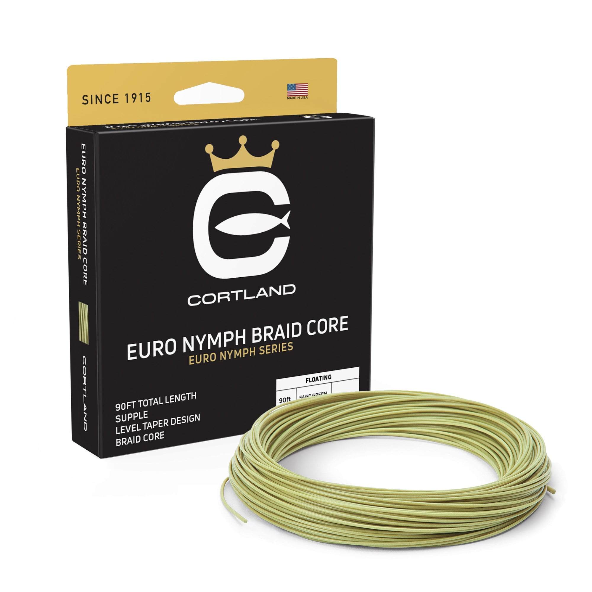 Cortland Euro Nymph Braid Core