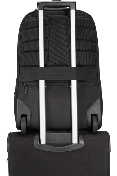 Samsonite Cityscape EVO Lapt Backpack/Wheels Black