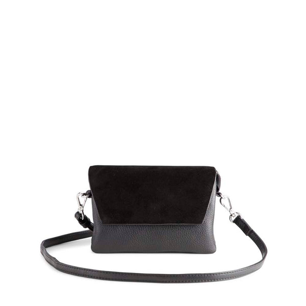 Markberg Adella Crossbody Bag Suede Mix Black Black