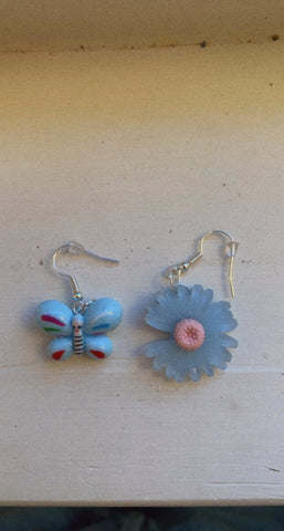 🦋 and 🌸 Earrings