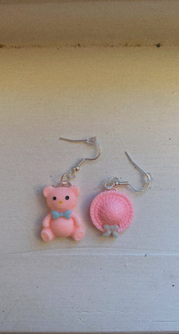 🐻 and 👒 Earrings