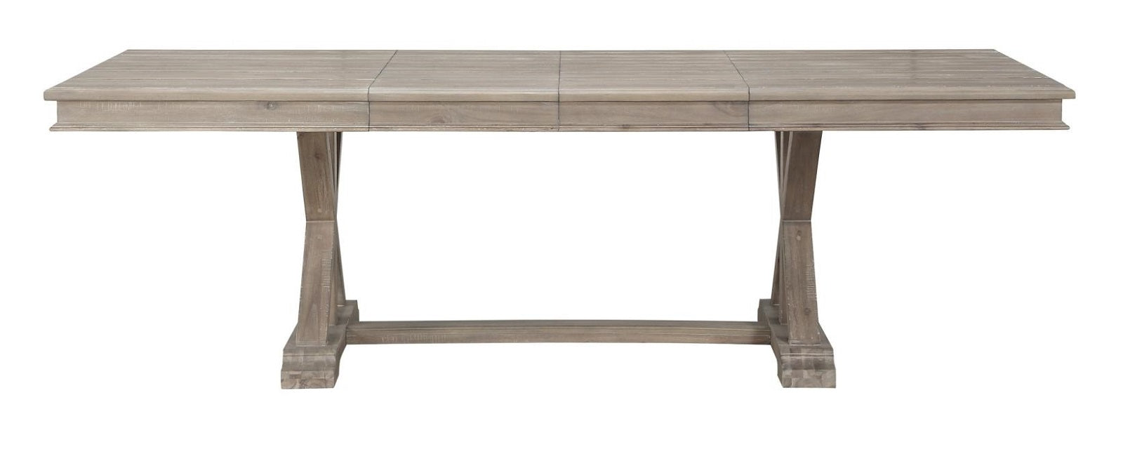 Homelegance Cardano Dining Table in Light Brown 1689BR-96* image