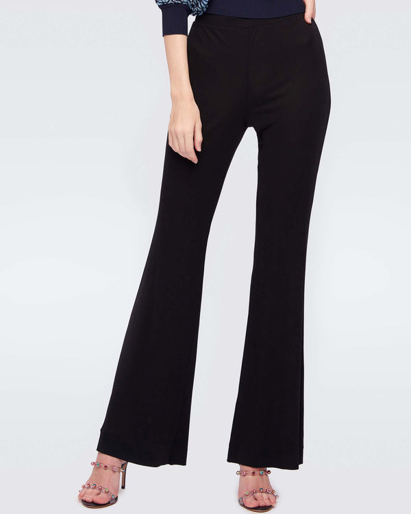 Brooklyn Matte-Jersey Skinny Pant in Black