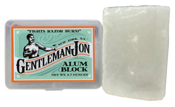Gentleman Jon Alum Block; 3.70 oz. - Gentleman Jon Shave Co. - 1