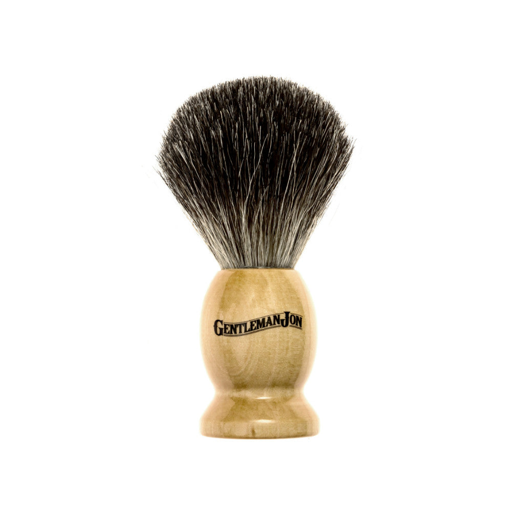 Gentleman Jon Badger Hair Shave Brush