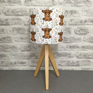 Handmade Highland Cow Lampshade (UK ONLY)