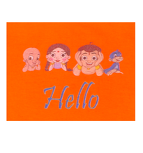 Load image into Gallery viewer, Chhota Bheem-Hello Group-Orange
