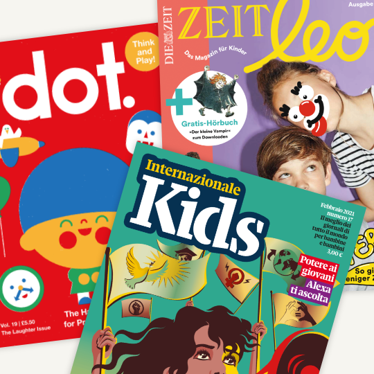 Portfolio Review: Inside the kid magazine