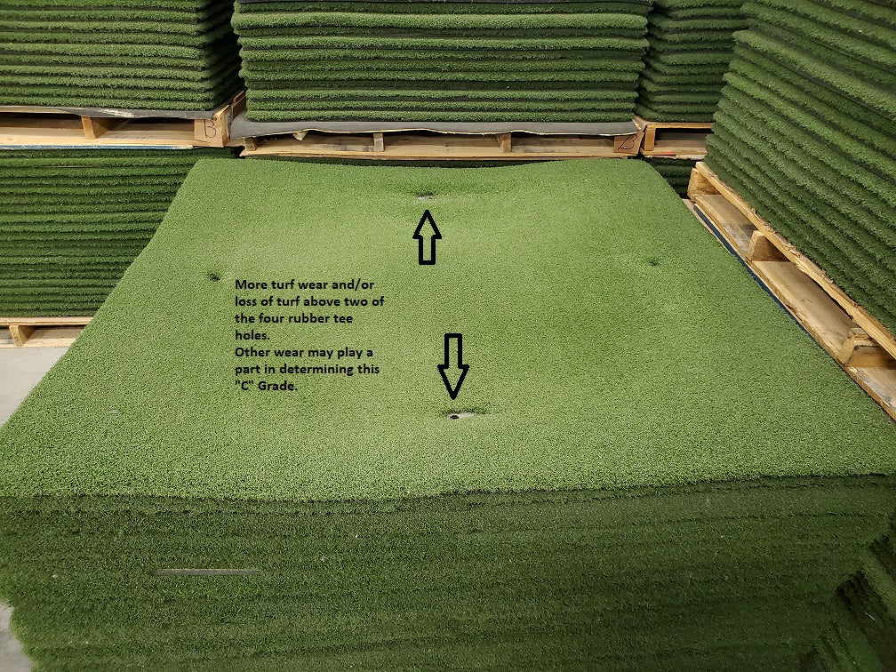 Used Golf Mat (Grade C)