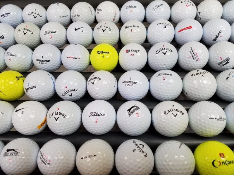Recovered Golf Balls [Grade A/B, Call to Order]