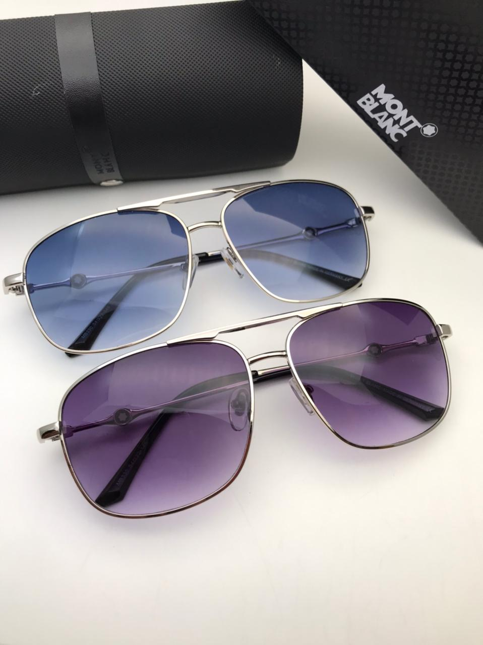 Mont Blanc Sunglasses for Men with Brand Box