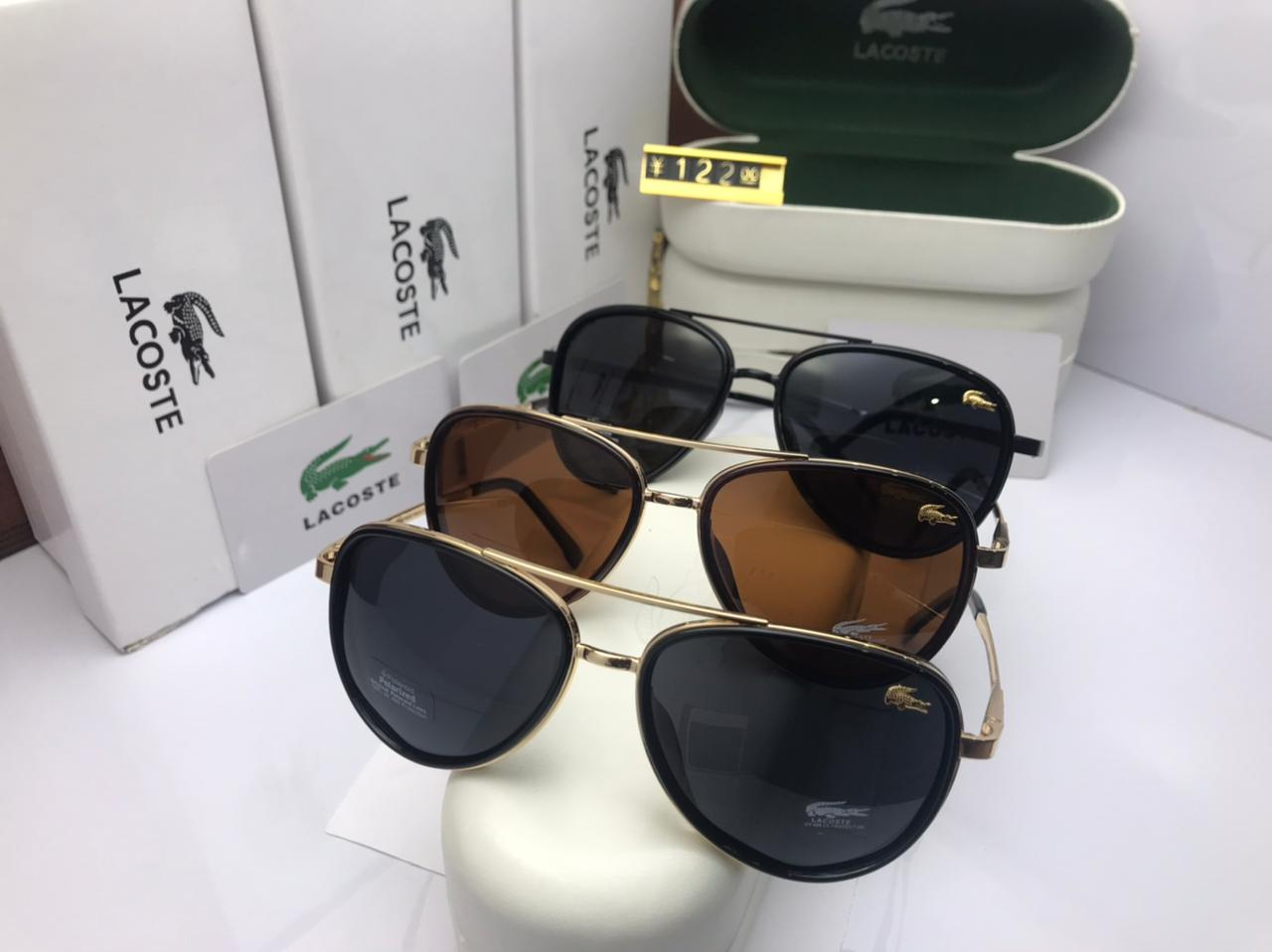 Lacoste Shades for him with Brand Box