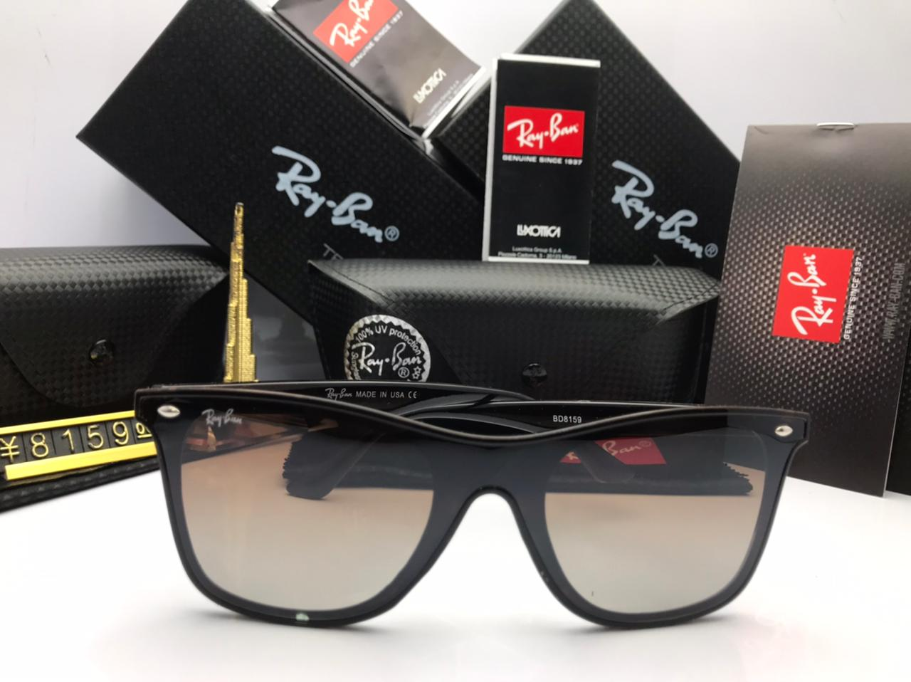 Rayban Wayfarer Polarized Sunglasses Unisex with Brand Box