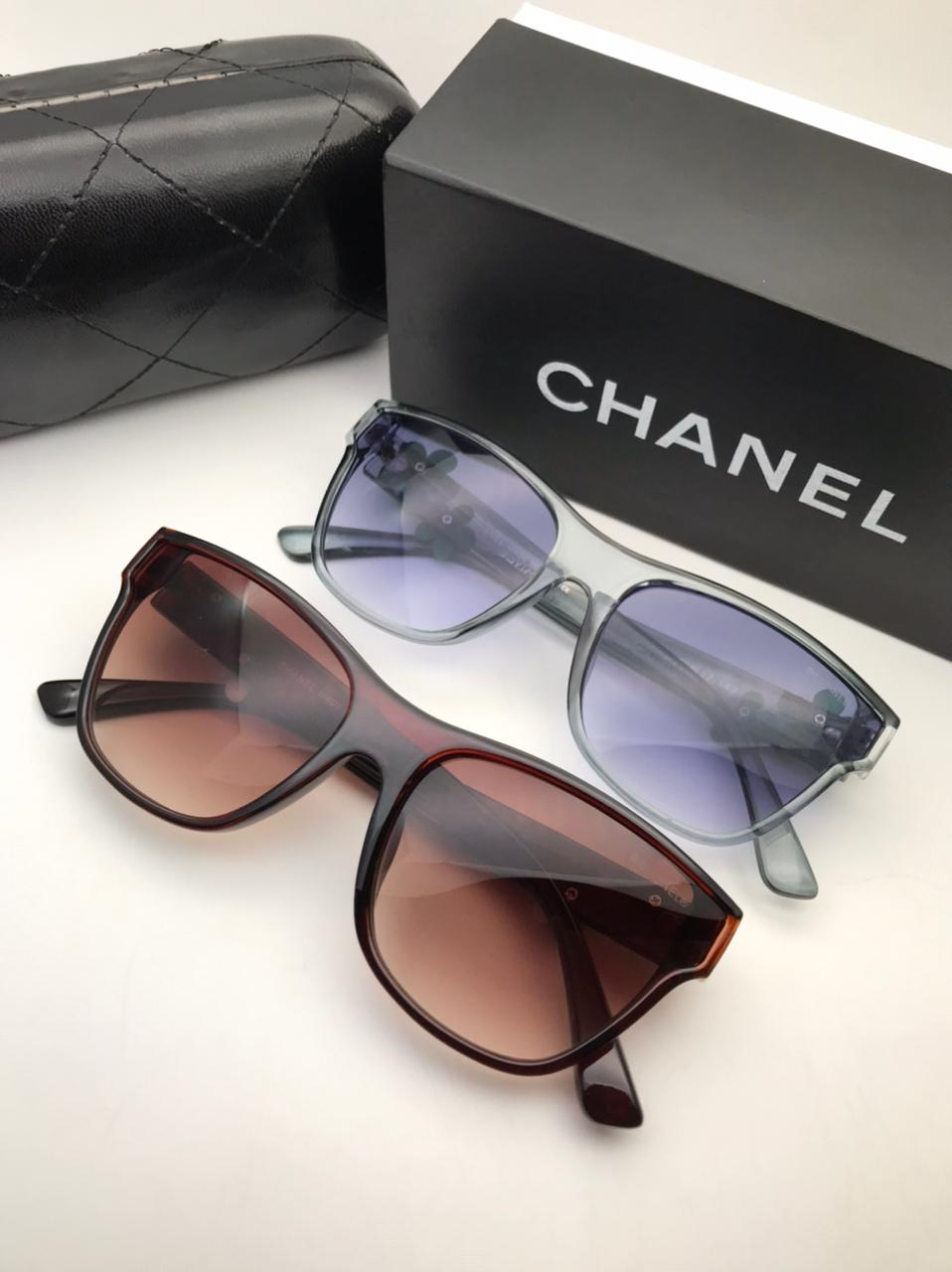 Chanel Sunglasses for Women with Brand Box