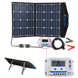 ACOPOWER LTK 80W Foldable Solar Panel Kit Suitcase