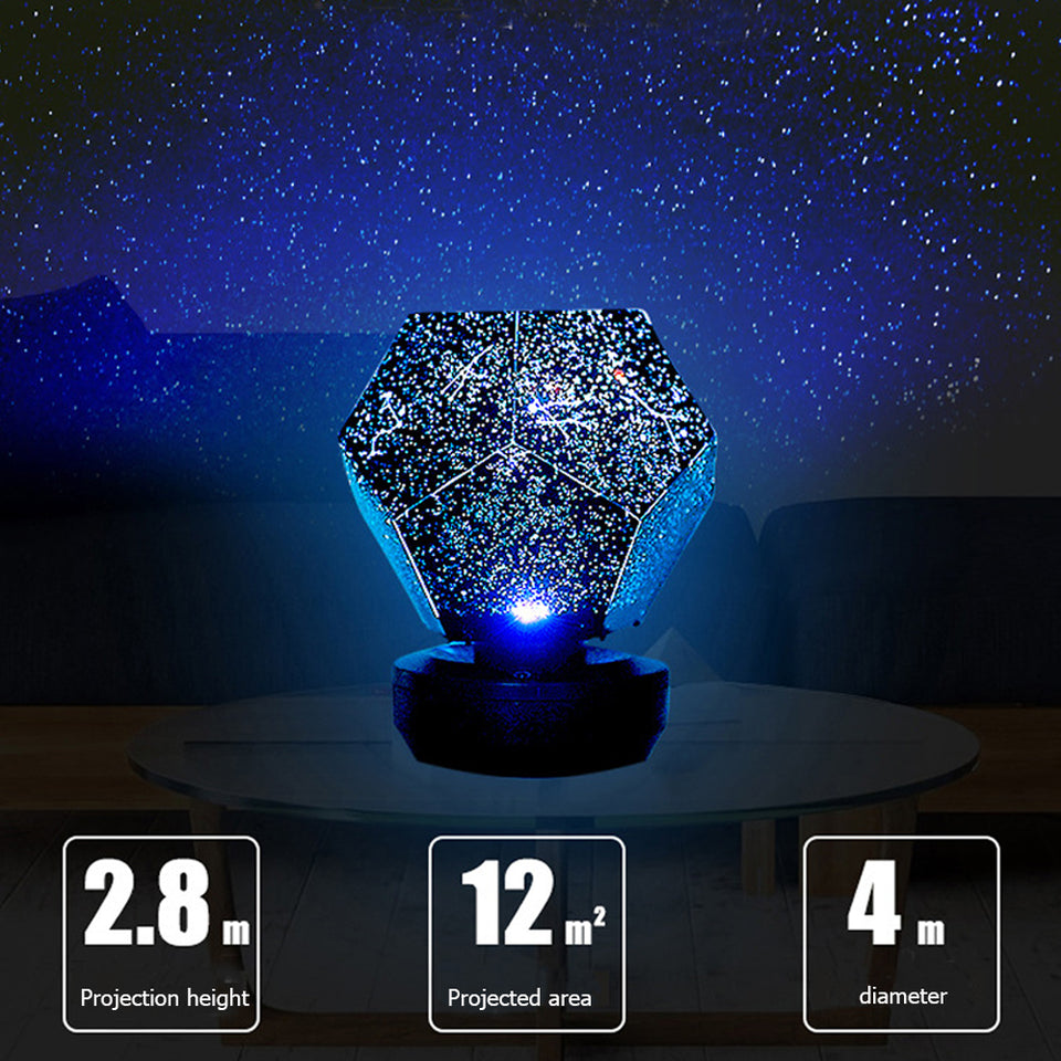 Bluetooth Speaker Star Light Projector Starry LED Galaxy Lamp