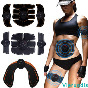 Muscle Stimulator ABS Fitness Buttocks Abdominal Trainer Toner