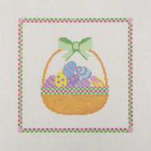 Load image into Gallery viewer, Needlepoint Canvas - Easter Basket