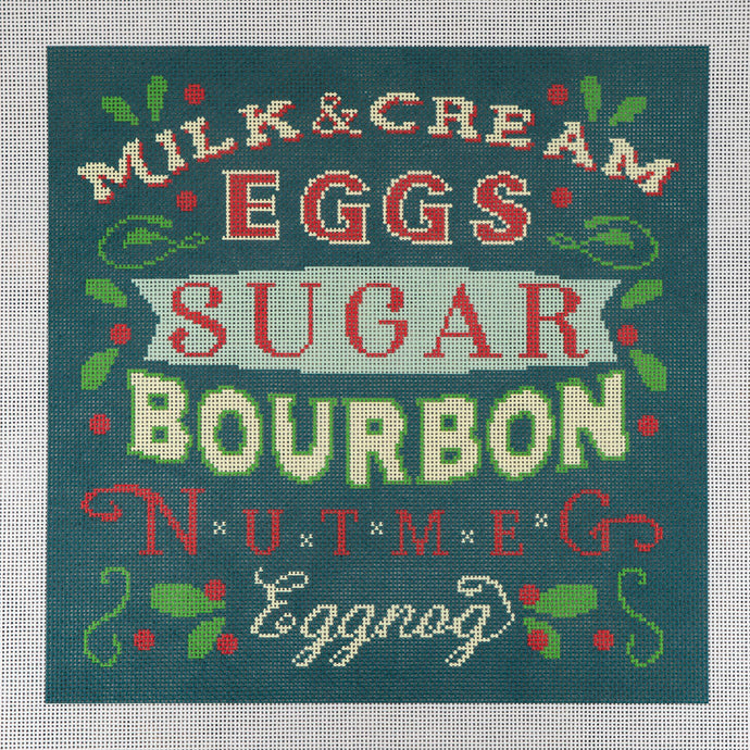 Needlepoint Canvas - Eggnog