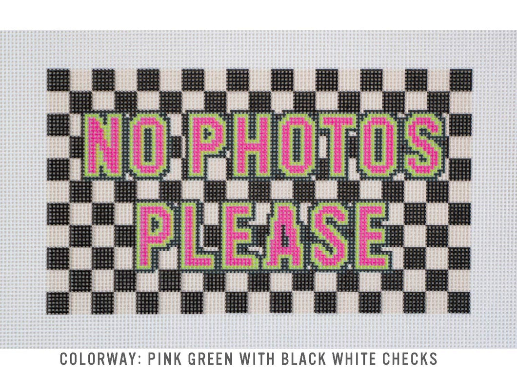 Needlepoint Canvas - No Photos Please