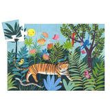 Djeco Tiger's Walk Silhouette Jig Saw Puzzle