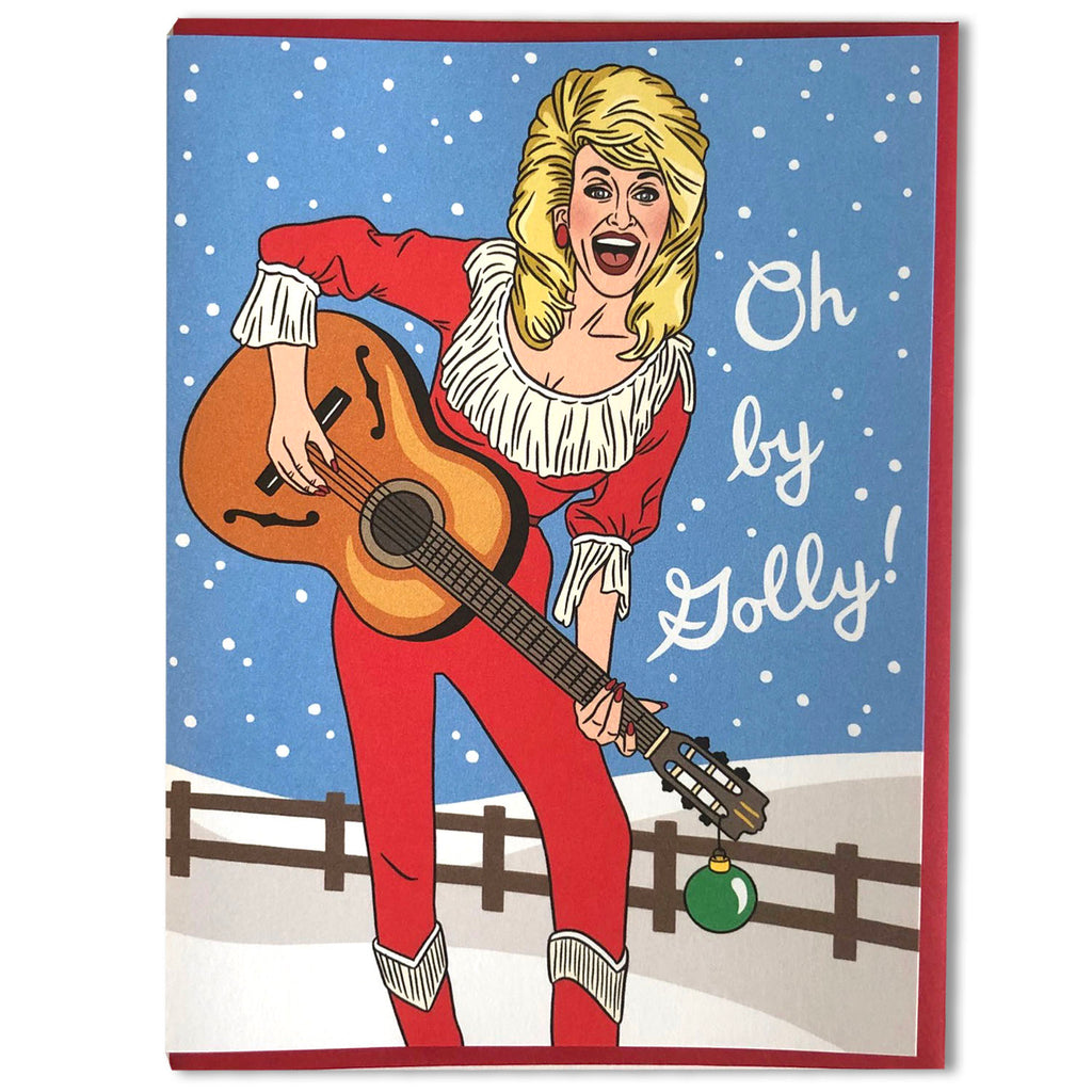Oh by Golly Dolly Holiday Card