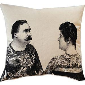 Spitfire Girl Tattoo Couple Pillow