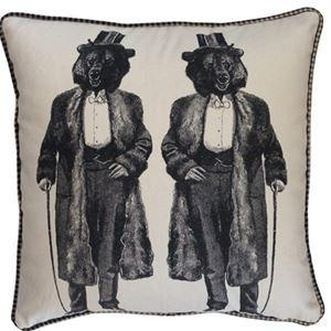 Spitfire Girl Gentlemen Bear Pillow