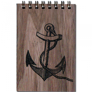 Anchor Wood Notepad