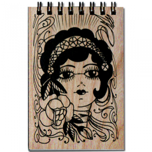 Gypsy Notepad spitfire girl