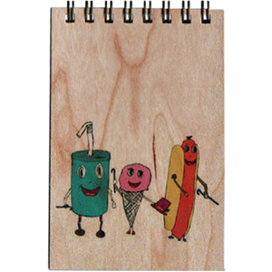 Food Groups Notepad