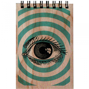 Pop Art Eye Notepad Spitfire Girl